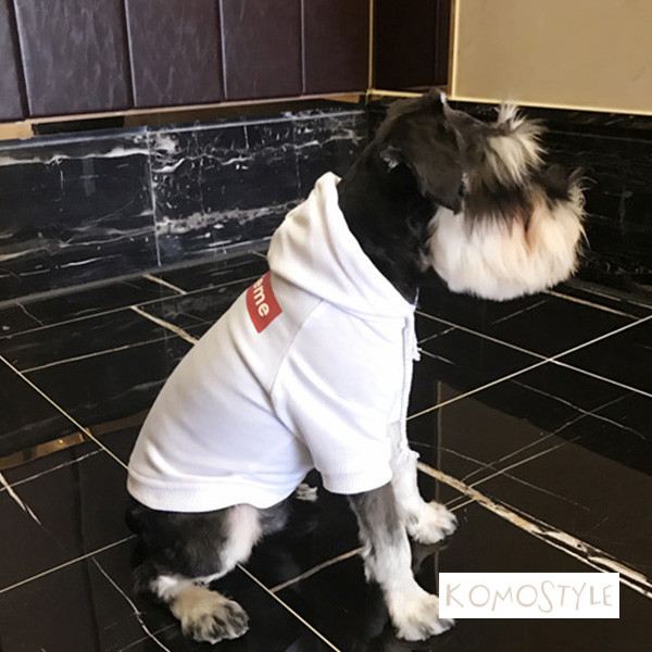 SUPREME dog wear 可愛い 防寒parka